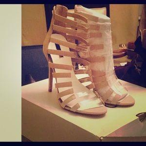 Unworn shoes